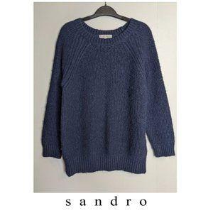 Sandro | Heavy knit crew neck sweater